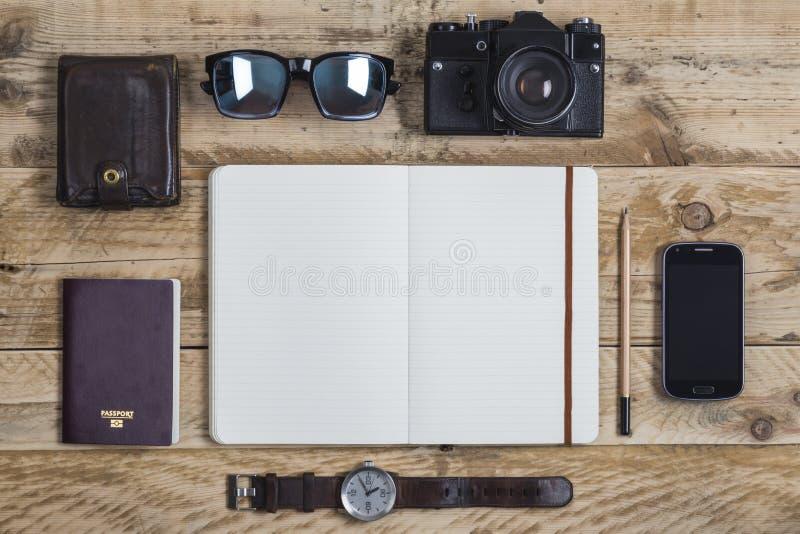 Giornale di viaggio fotografia stock libera da diritti