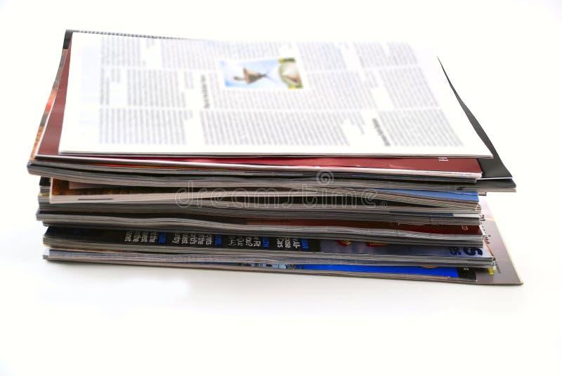 Giornali e scomparti immagine stock libera da diritti