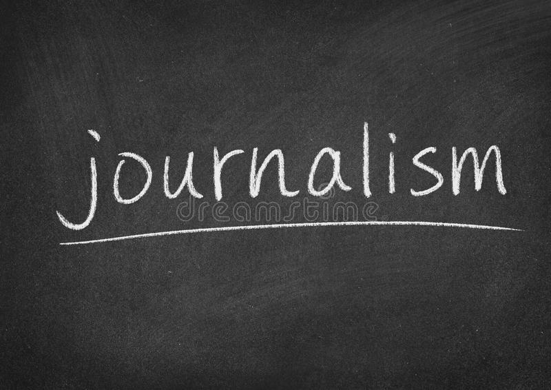giornalismo fotografia stock