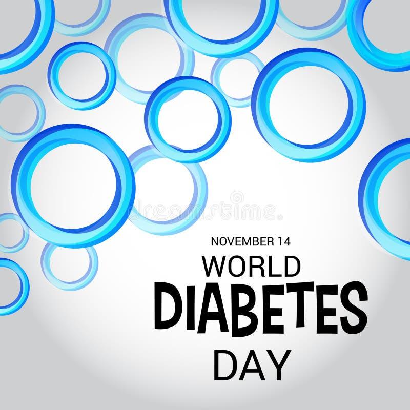 Giornata mondiale del diabete royalty illustrazione gratis