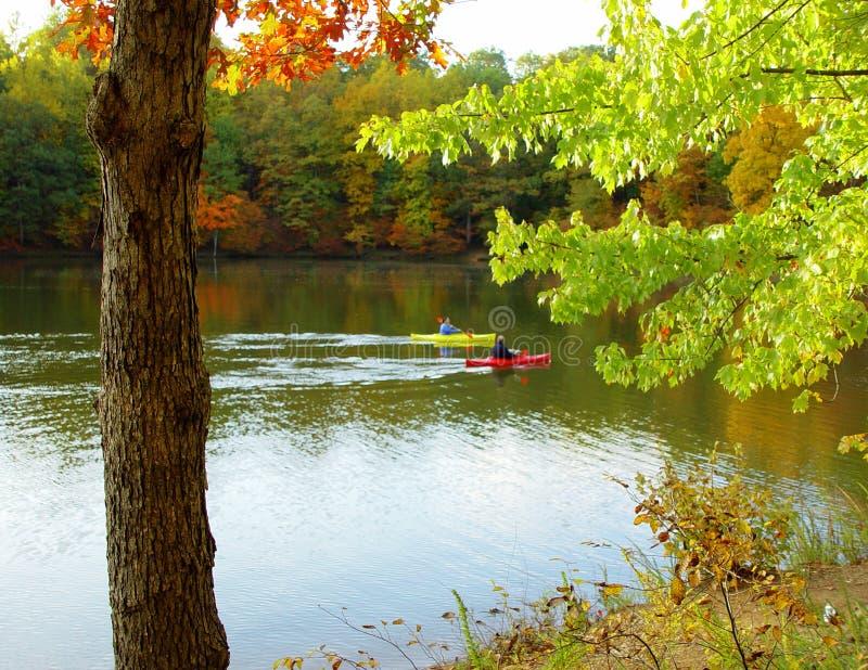 Giorno calmo di autunno fotografie stock
