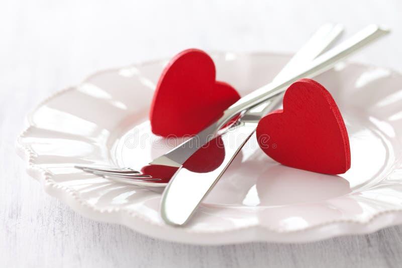 Giorno Dei Biglietti Di S. Valentino Fotografie Stock