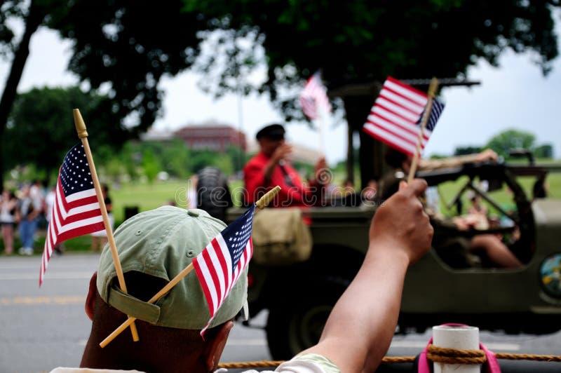 Giorno dei Caduti in Washington DC fotografia stock libera da diritti