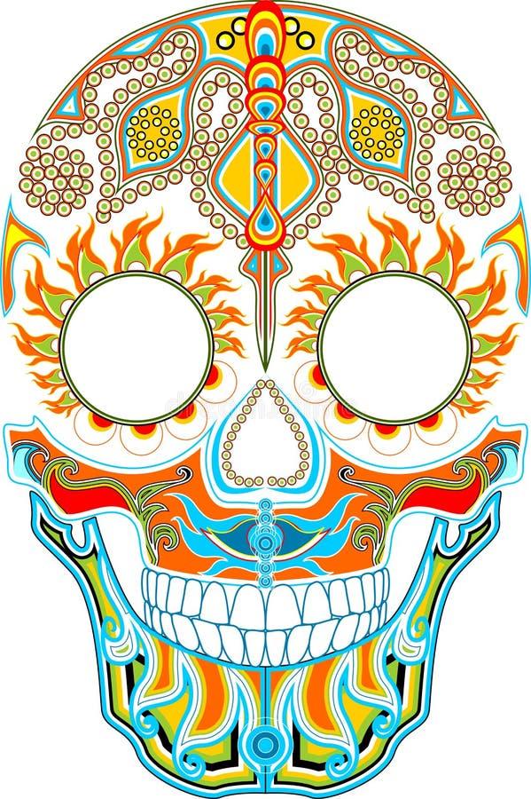 Giorno dei morti Festival messicano immagini stock libere da diritti