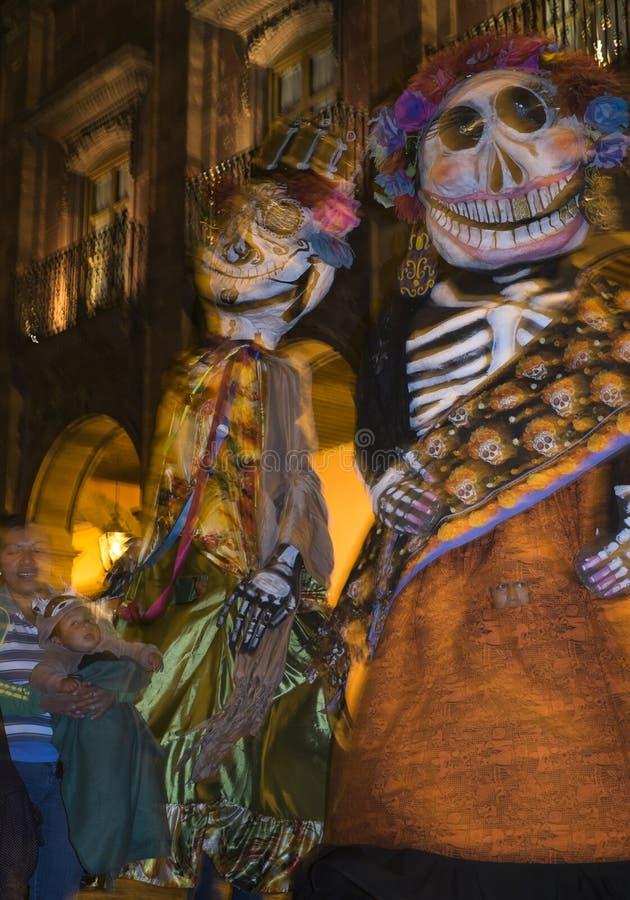 Giorno dei morti, San Miguel, Messico immagini stock libere da diritti