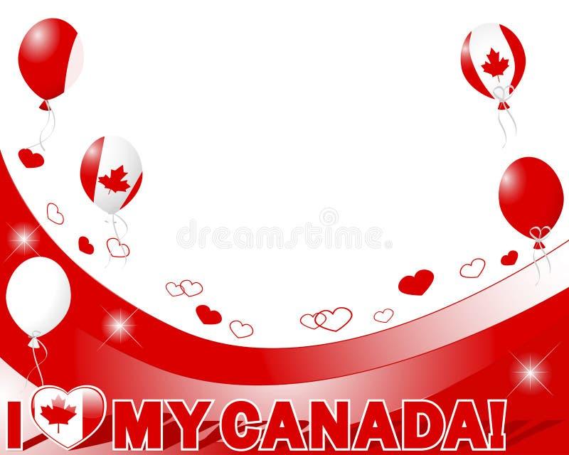 Giorno del Canada. illustrazione vettoriale
