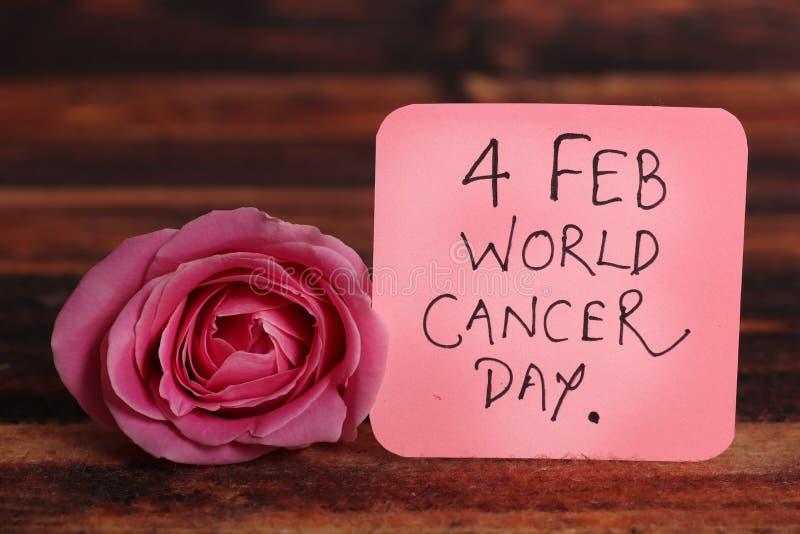 Giorno del Cancro fotografie stock