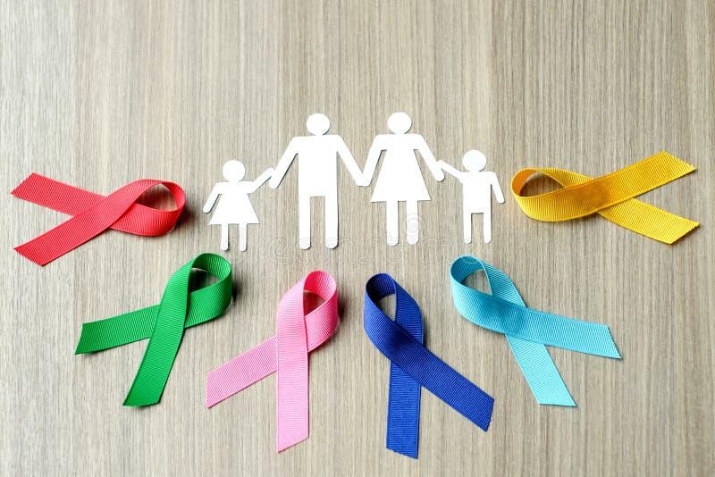 Giorno del cancro del mondo immagini stock libere da diritti