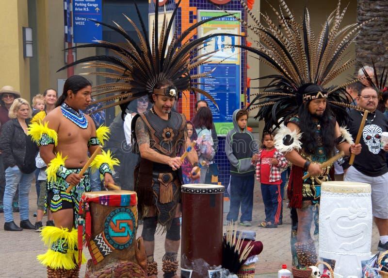 Giorno del festival morto, Fruitvale, California fotografia stock libera da diritti