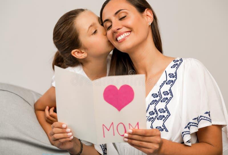 Giorno del `s della madre fotografia stock libera da diritti