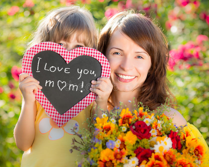 Giorno del ` s della madre fotografia stock