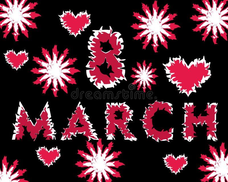 Giorno del ` s della madre, l'8 marzo fotografie stock