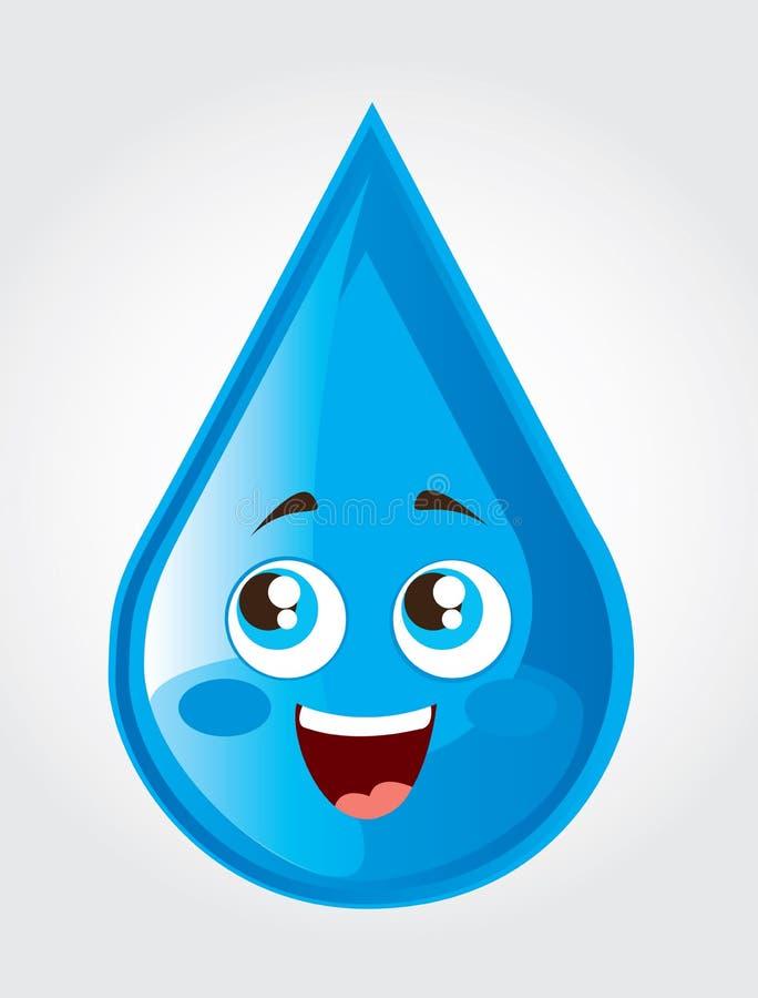 Giorno dell'acqua illustrazione vettoriale