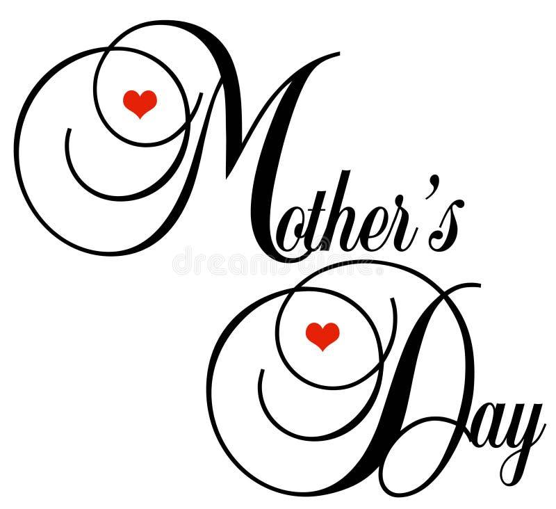 Giorno della madre royalty illustrazione gratis