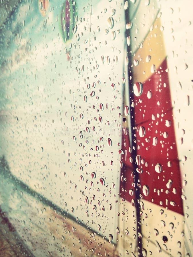 Giorno della pioggia fotografia stock