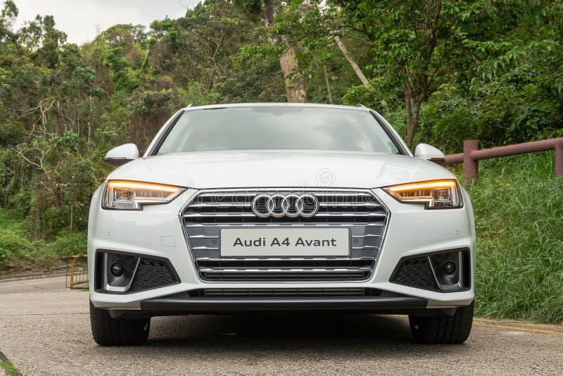 Giorno della prova su strada di Audi A4 Avant 40 immagini stock