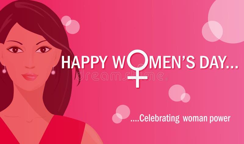 Giorno delle donne internazionali   illustrazione vettoriale