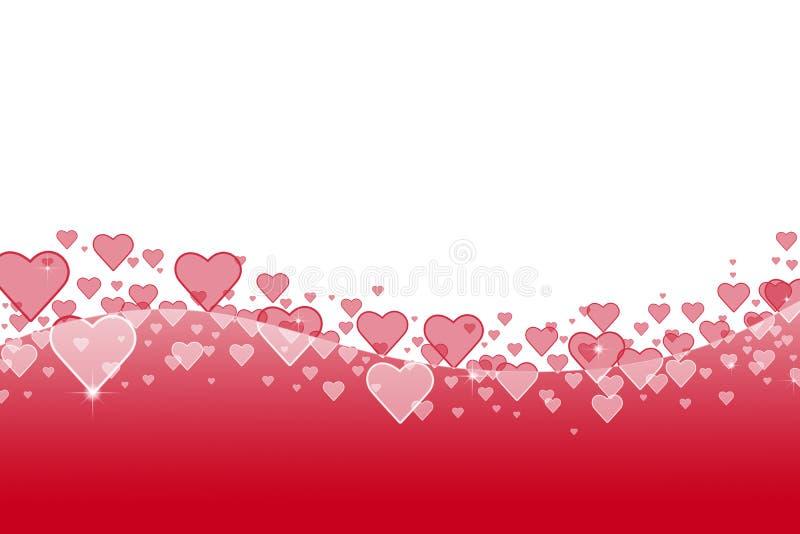 Giorno di biglietti di S. Valentino del fondo immagine stock libera da diritti