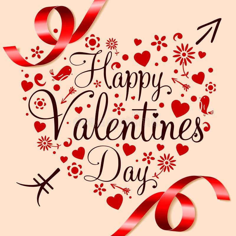 Giorno di biglietti di S. Valentino felice