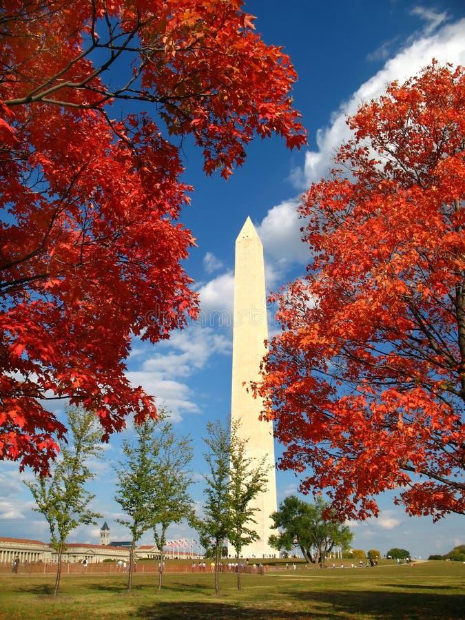 Giorno di caduta in DC di Washington fotografia stock
