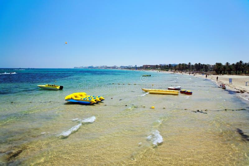 Giorno di estate dalla spiaggia. immagine stock libera da diritti