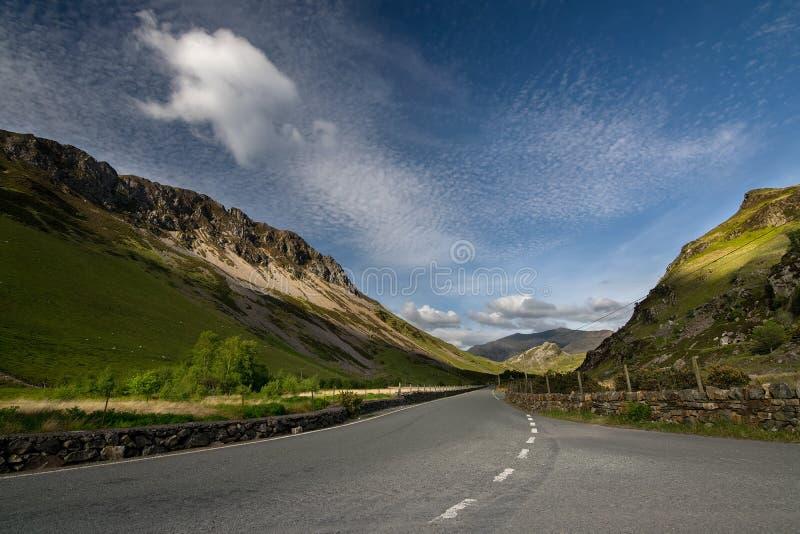 Giorno di estate in Snowdonia fotografia stock
