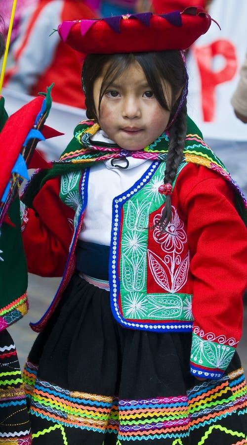 Giorno di formazione del Perù fotografie stock libere da diritti
