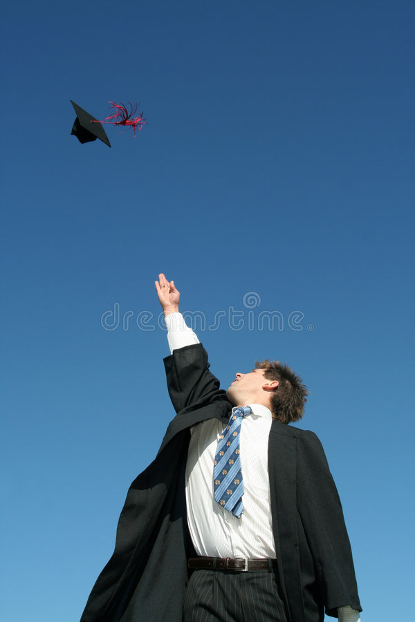 Giorno di graduazione fotografia stock