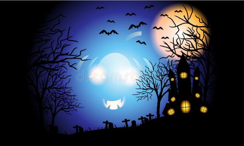 Giorno di Halloween royalty illustrazione gratis