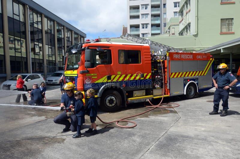 Giorno di istruzione di protezione antincendio fotografia stock libera da diritti