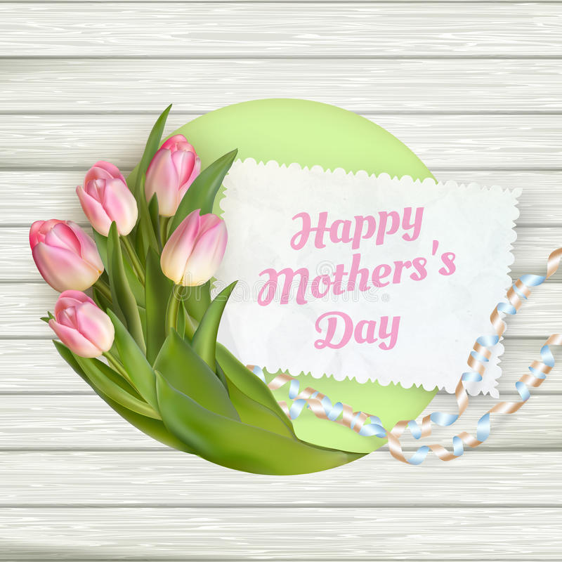Giorno di madre felice ENV 10 royalty illustrazione gratis