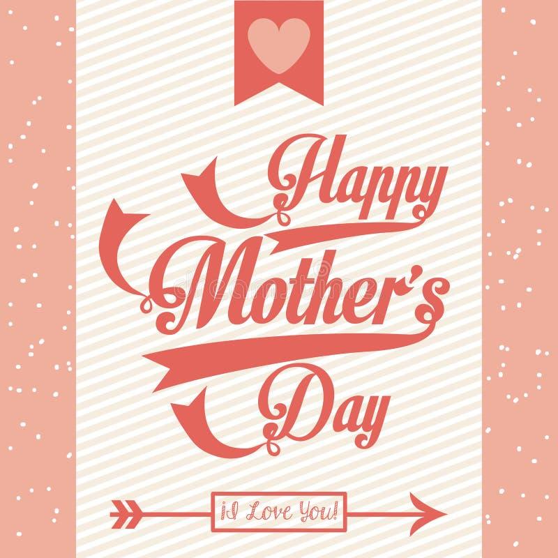 Giorno di madri felice royalty illustrazione gratis