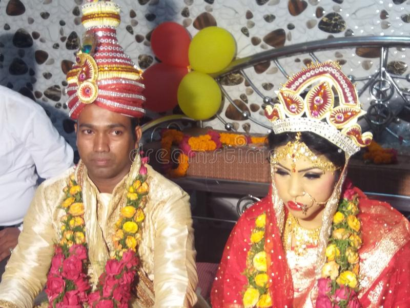 giorno di matrimonio del abcde fotografia stock