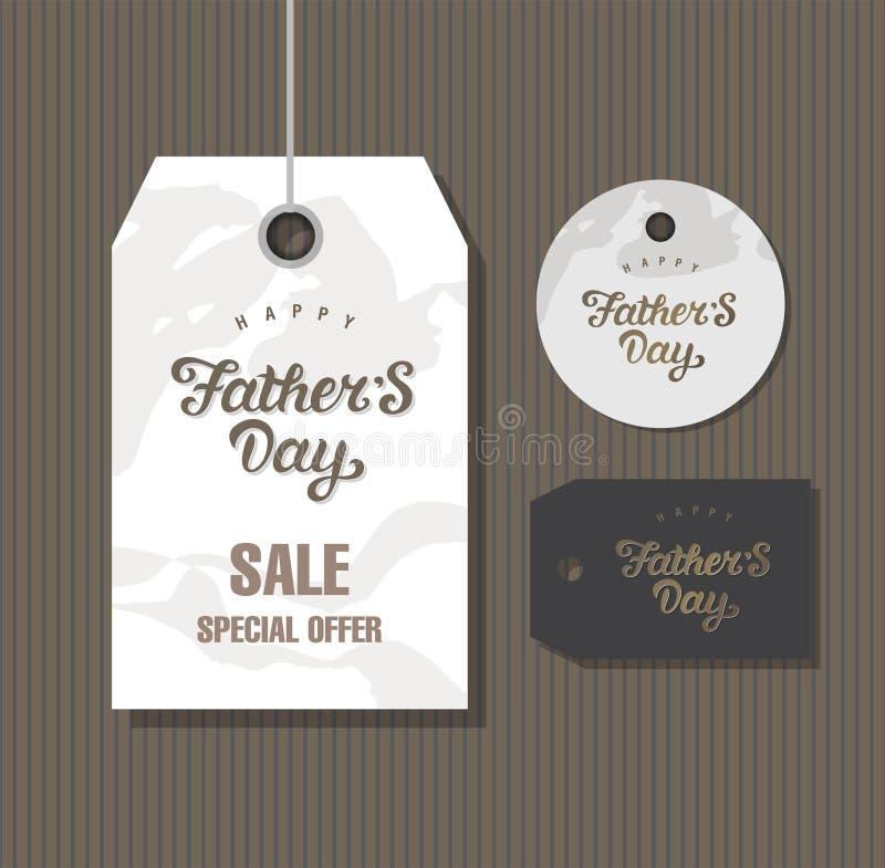 Giorno di padri felice royalty illustrazione gratis