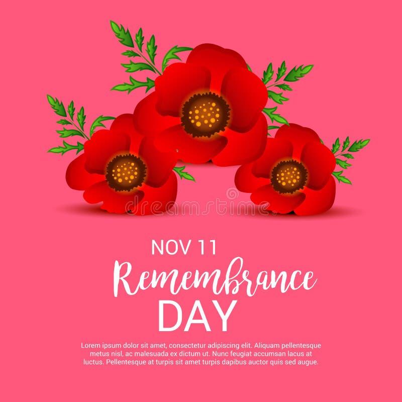 Giorno di ricordo royalty illustrazione gratis