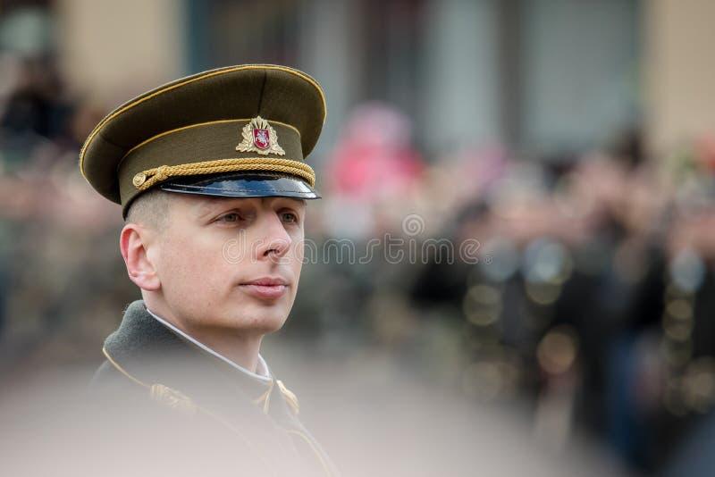 Giorno di ripristino di indipendenza della Lituania fotografia stock
