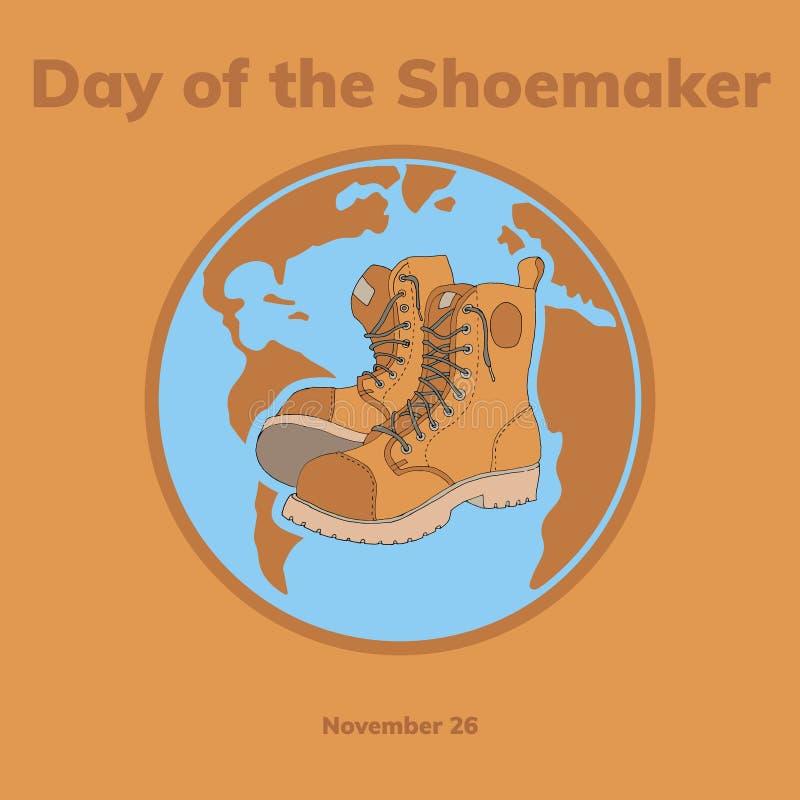 Giorno di Shoesmaker illustrazione di stock