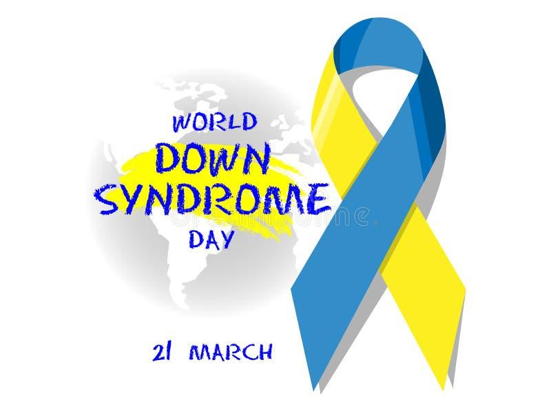 Giorno di sindrome di Down del mondo immagini stock