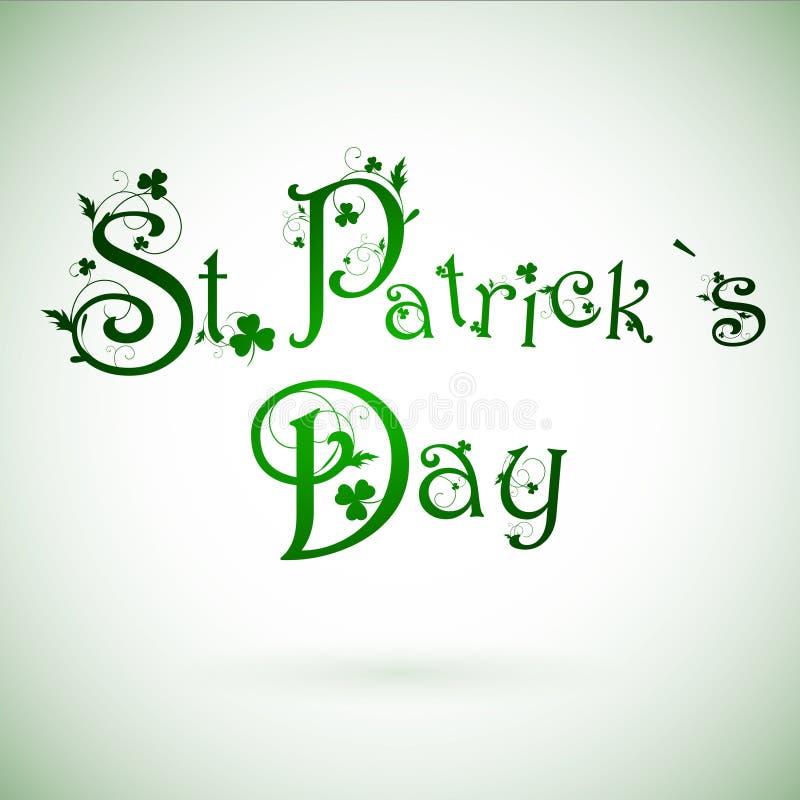 Giorno di St.Patrick illustrazione di stock