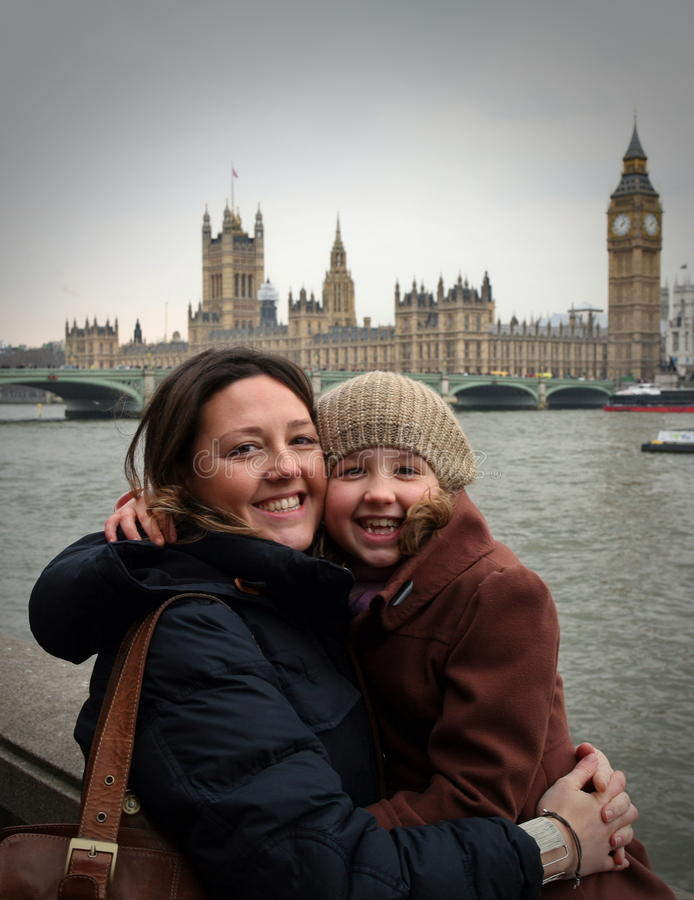 Giorno di vacanza a Londra fotografia stock