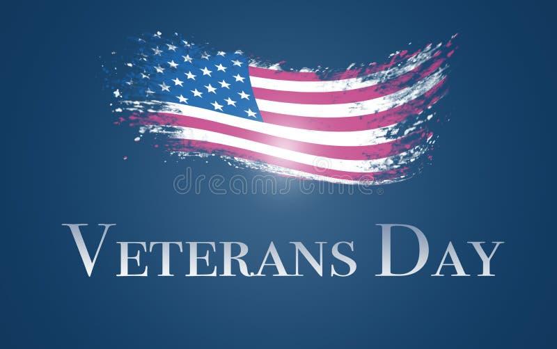 Giorno di veterani illustrazione di stock