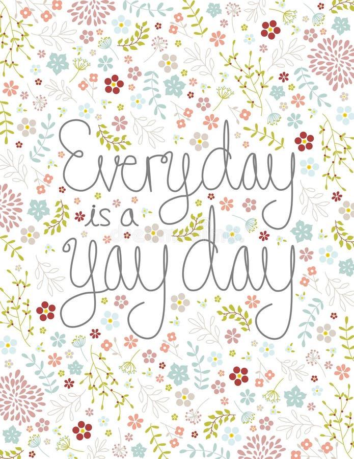 Giorno di Yay immagini stock libere da diritti