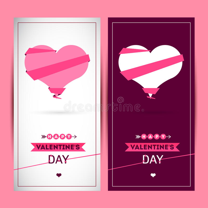 Giorno felice dei biglietti di S illustrazione vettoriale