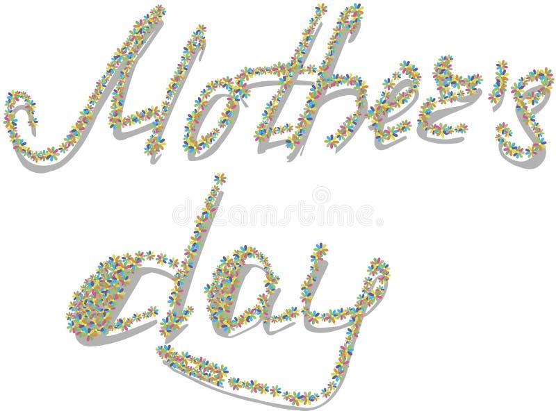Giorno felice del `s della madre fotografia stock