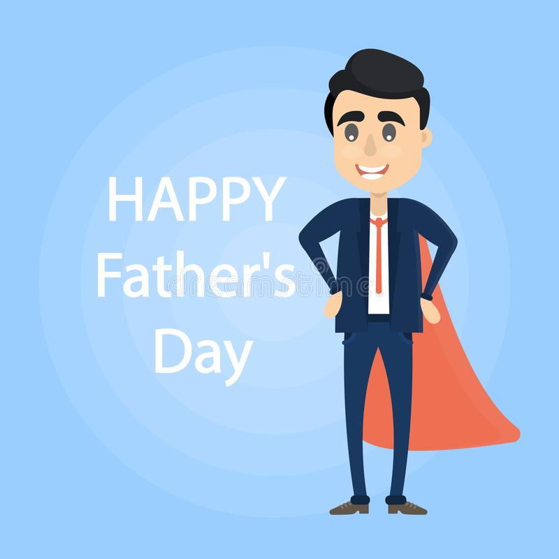 Giorno felice del ` s del padre illustrazione vettoriale