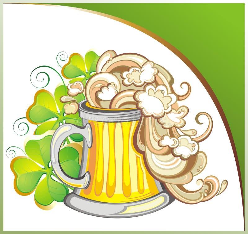 Giorno felice della st Patricks illustrazione di stock