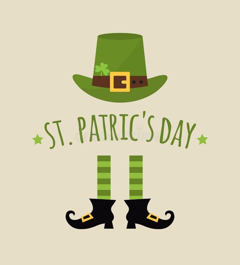 Giorno felice della st Patricks royalty illustrazione gratis