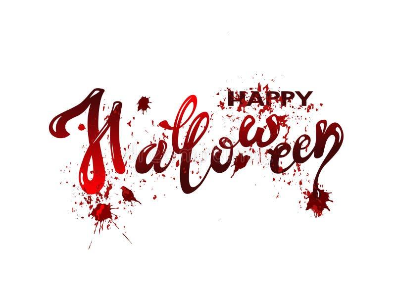 Giorno felice di Halloween illustrazione vettoriale