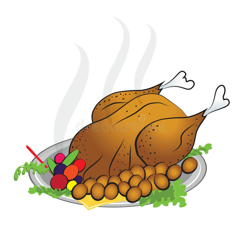 Giorno felice di ringraziamento della Turchia royalty illustrazione gratis