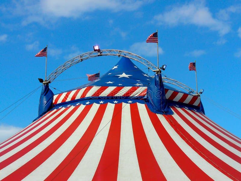 Giorno fuori al circo fotografie stock